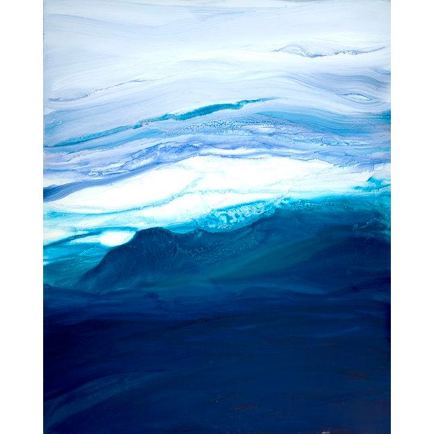 2010s Teodora Guererra, 'Saltwater' Painting, 2017 For Sale - Image 5 of 5