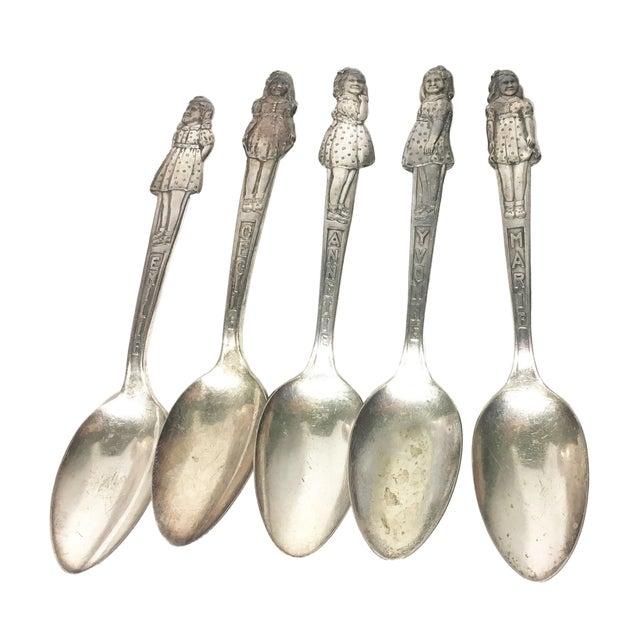 Vintage Dionne Quintuplet Spoons - Set of 5 - Image 1 of 3