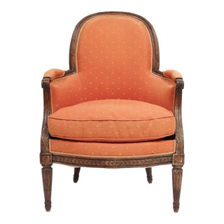 """En Gondole"" Louis XVI Style Bergere For Sale"