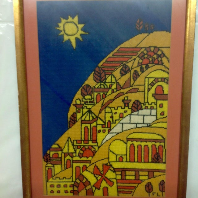 Mid-Century Modern Mid-Century Tapestry After Fernand Ledger For Sale - Image 3 of 5