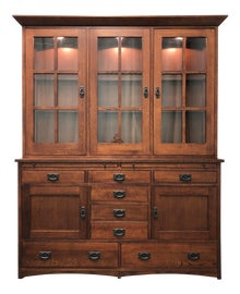 Image of Mission China and Display Cabinets