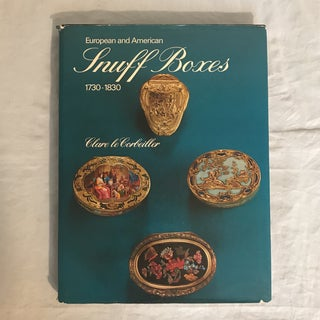 "1966 ""European & American Snuff Boxes (1730-1830)"" First Edition Art/Design Book Preview"