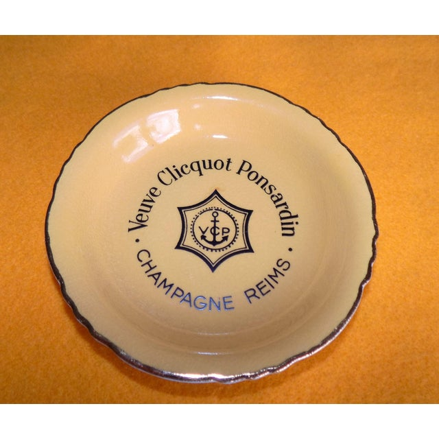 Vintage French Veuve Clicquot Plate - Image 6 of 8