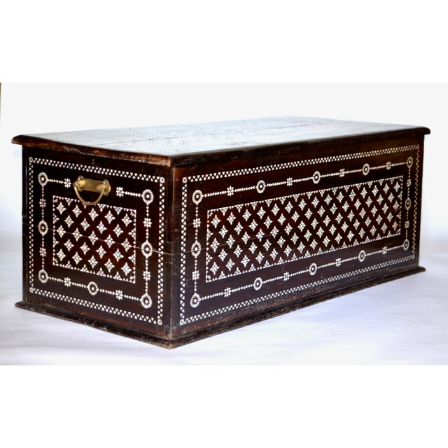 Turkish Mother of Pearl Inlaid Chest - Image 5 of 9