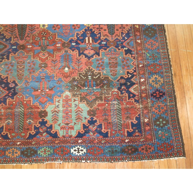 Antique Tribal Persian Rug - 5'2'' x 7'2'' - Image 4 of 5