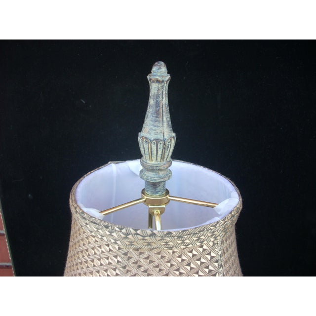 French Country Table Lamp For Sale - Image 5 of 5