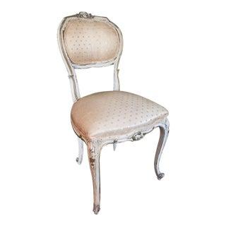 Vintage French Provincial Boudoir Chair - W. & J. Sloane
