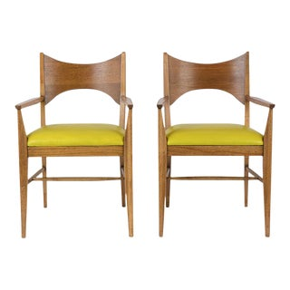 Pair of Modern Harvey Probber Style Armchairs For Sale