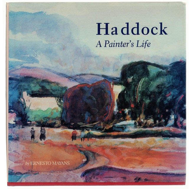 Blue Haddock: A Painter's Life - SIGNED For Sale - Image 8 of 8