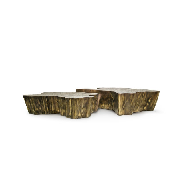 Not Yet Made - Made To Order Eden Patina Center Table From Covet Paris For Sale - Image 5 of 7