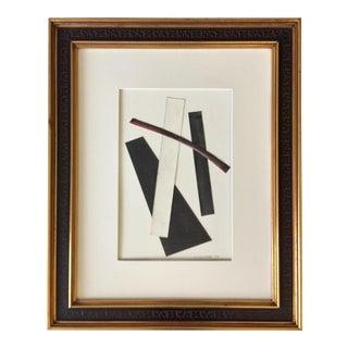 Minimalist Collage Vintage Aesthetic Frame For Sale