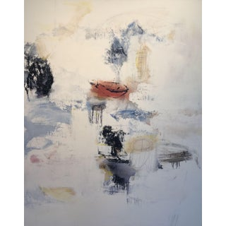 """Robert Kingston """"Untitled"""" Abstract Painting For Sale"""
