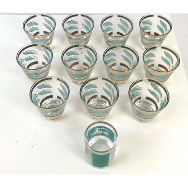 Mid-Century Shot Glasses and Jigger - Set of 12 - Image 3 of 7