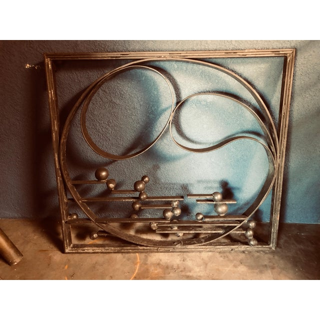 One of our favorite architectural elements salvaged from a San Francisco demolition—this bronzed iron gate is a one-of-a-...