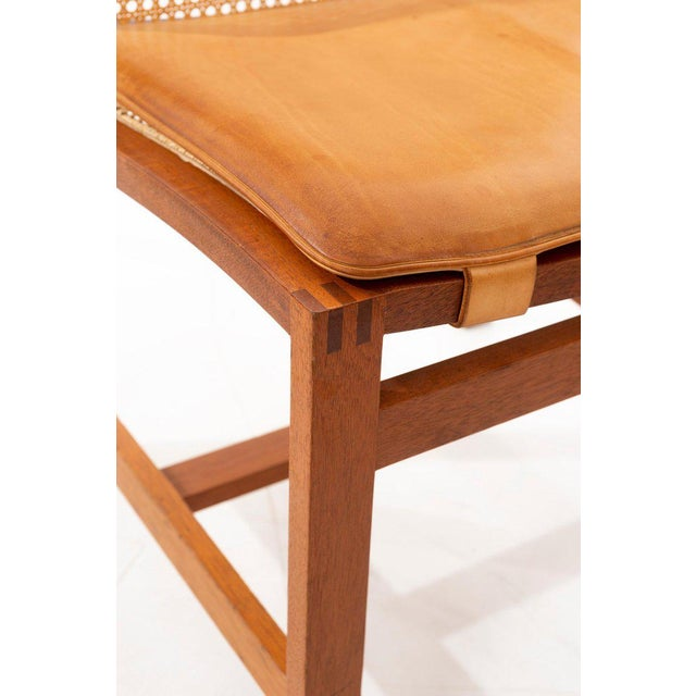 Rud Thygesen & Johnny Sorensen Set of 8 Dining Chairs For Sale - Image 9 of 13