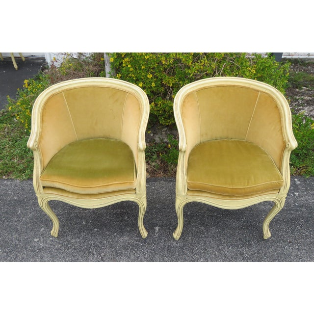 This highly elegant Four Chairs is made of wood, fabric and they were made by Jamestown Lounge Co. These chairs have...