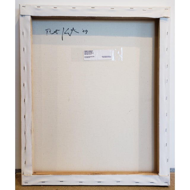 """Robert Kingston """"Untitled"""" Robert Kingston Abstract Painting For Sale - Image 4 of 6"""
