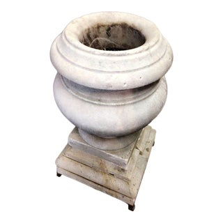 19th Century Antique Marble Urn For Sale