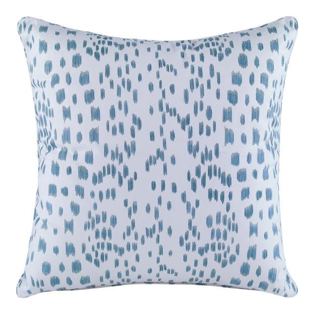 Curated Kravet Les Touches Pillow - Aqua For Sale