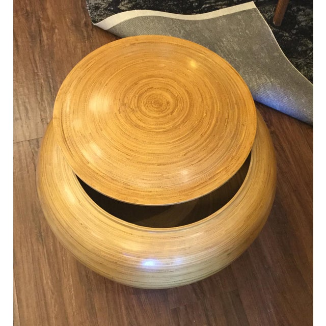 Spun Bamboo Container - Image 2 of 5