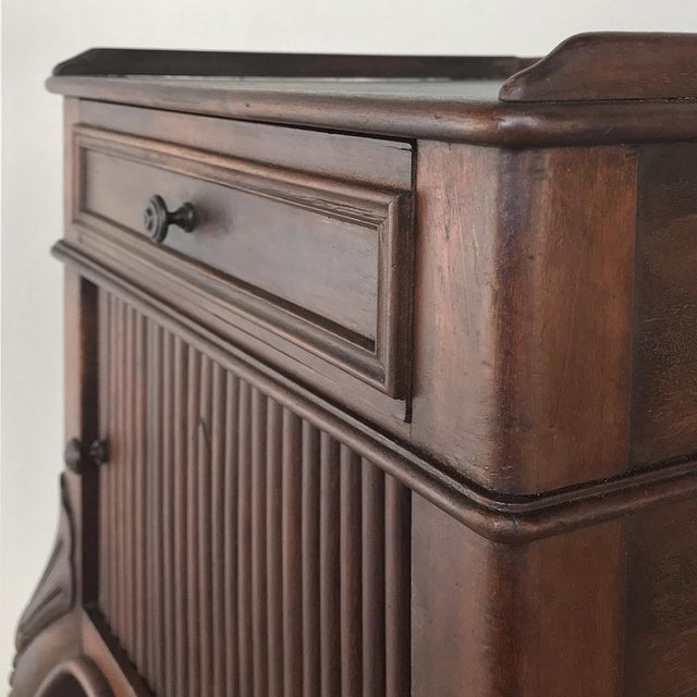 Antique Country French Nightstand For Sale - Image 9 of 13