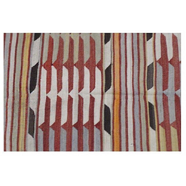 Islamic Turkish Kilim Rug - 4′10″ × 6′3″ For Sale - Image 3 of 4