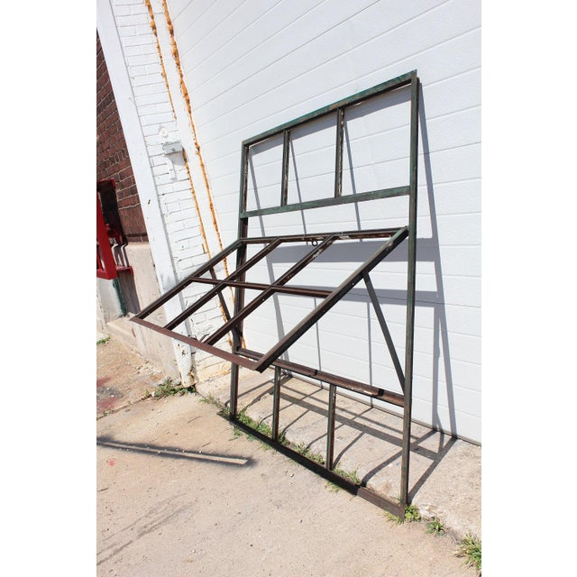 Industrial 21st Century Factory Casement Metal Window Frame For Sale - Image 3 of 8