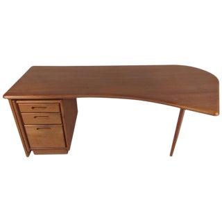 Scandinavian Modern Executive Desk For Sale