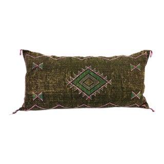Diamond Mud Cloth Lumbar Pillow For Sale