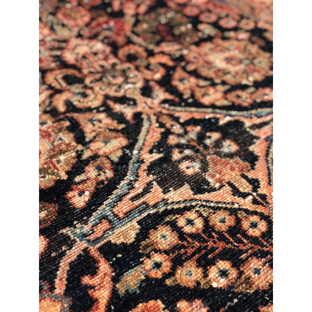 """1960s Persian Malayer Wool Runner - 3'5""""x19'4"""" For Sale In Atlanta - Image 6 of 13"""