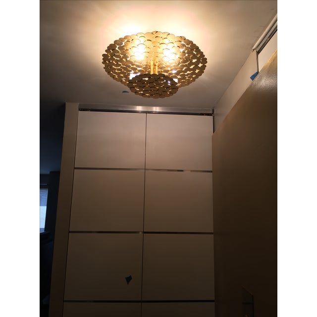 Gold Coin 2 Tiered Ceiling Light - Image 6 of 7