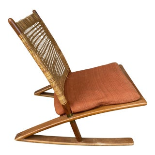 1950s Fredrik Kayser Rocking Chair For Sale