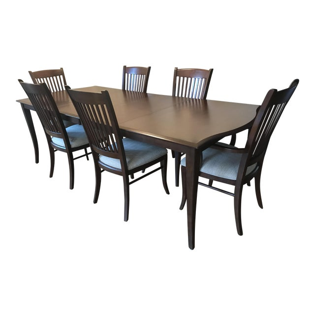Richardson Brothers Solid Wood Dining Set - Image 1 of 11