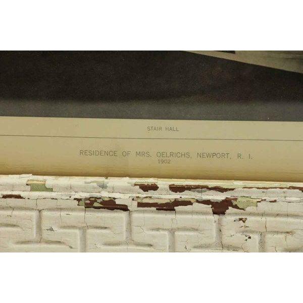 White Mrs. Olerich's Residence Framed Photo For Sale - Image 8 of 8