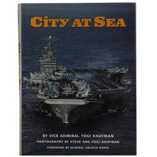 "1995 ""City at Sea"" Vice Admiral Yogi Kaufman Book For Sale"