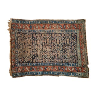 "Antique Kurdish Rug - 3'8"" X 4'10"" For Sale"