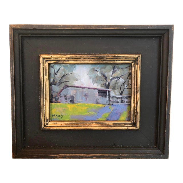 """""""Amador County Barn"""" Oil Painting For Sale"""