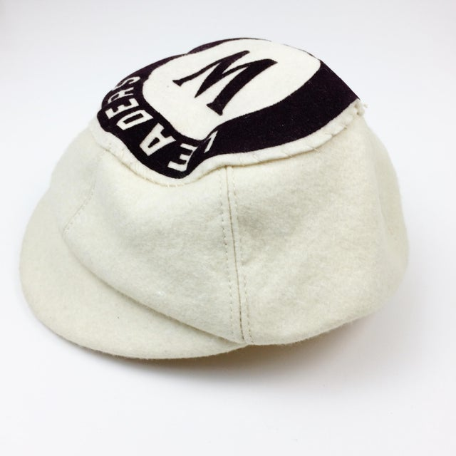 Antique Wool Short Bill Baseball Softball Ny Leaders Club Cap - Image 4 of 6