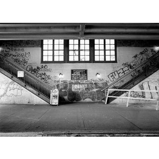 "John Conn ""Subway 27 - Station"" Limited Edition Black and White Photograph For Sale"