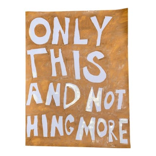 Only This and Nothing More Abstract Painting by Virginia Chamlee For Sale