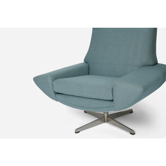 1950s Capri Swivel Chairs by Johannes Andersen for Trensum, 1958 For Sale - Image 5 of 7