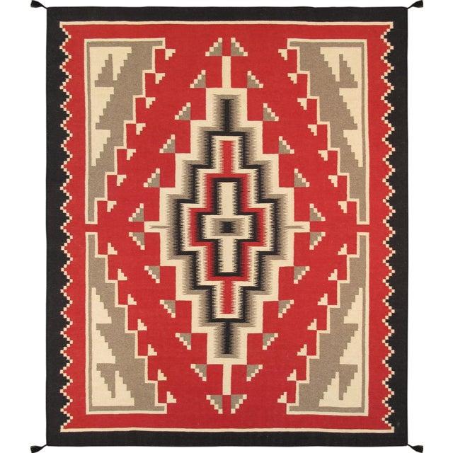 Navajo Decorative Hand-Woven Rug - 8' X 10' - Image 1 of 3