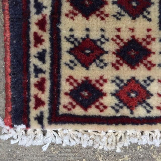 "Turkaman Handmade Persian Rug - 2'1"" X 2'8"" - Image 8 of 9"