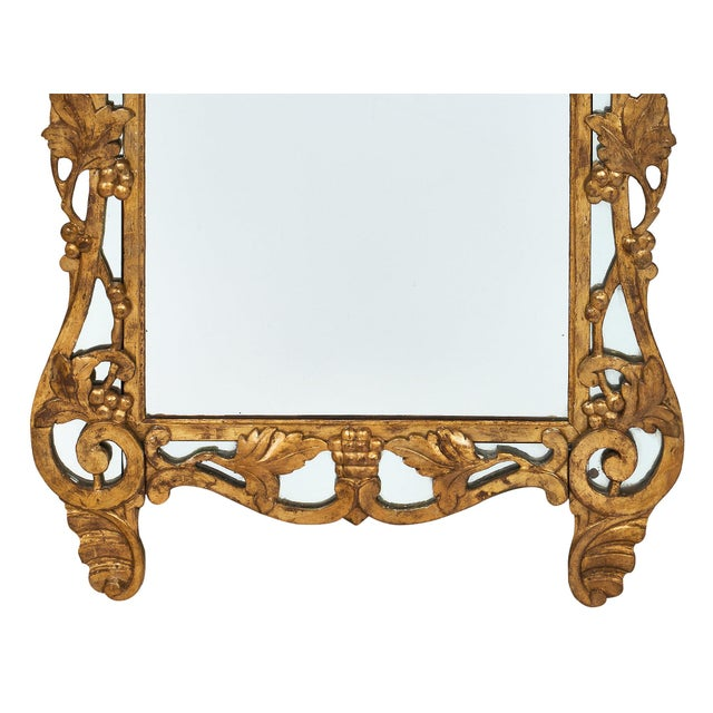"Gold French Antique Louis XIV Style ""Pareclose"" Mirror For Sale - Image 8 of 11"