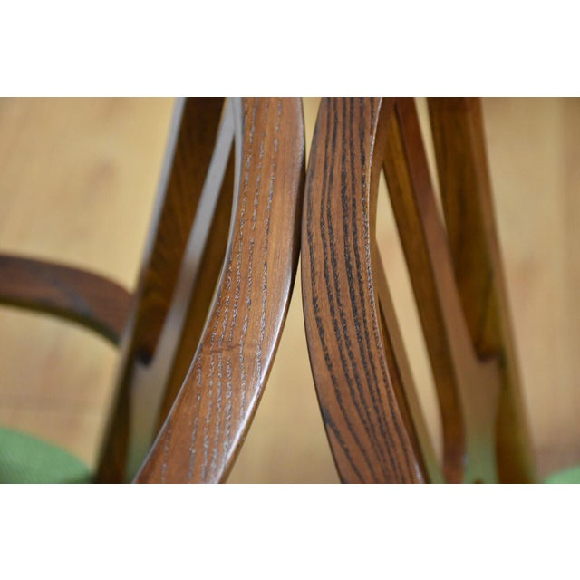 Broyhill Brasilia Walnut Dining Chairs - Set of 8 - Image 8 of 11