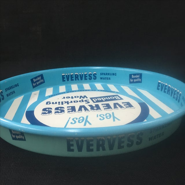 Vintage Advertising Tray, Evervess 1950's - Image 8 of 9