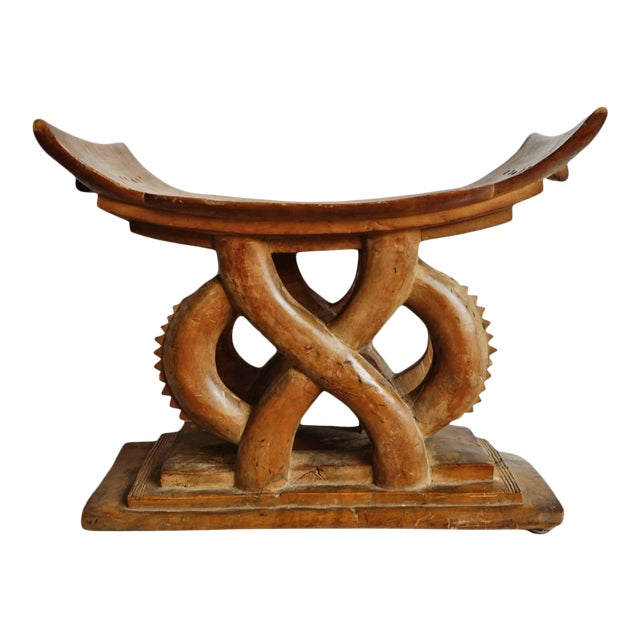 Authentic Ashanti Chief Stool For Sale