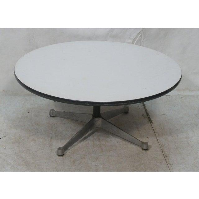 Herman Miller Pedestal Coffee Table with White Laminate Top, Circa 1960 - Image 2 of 7