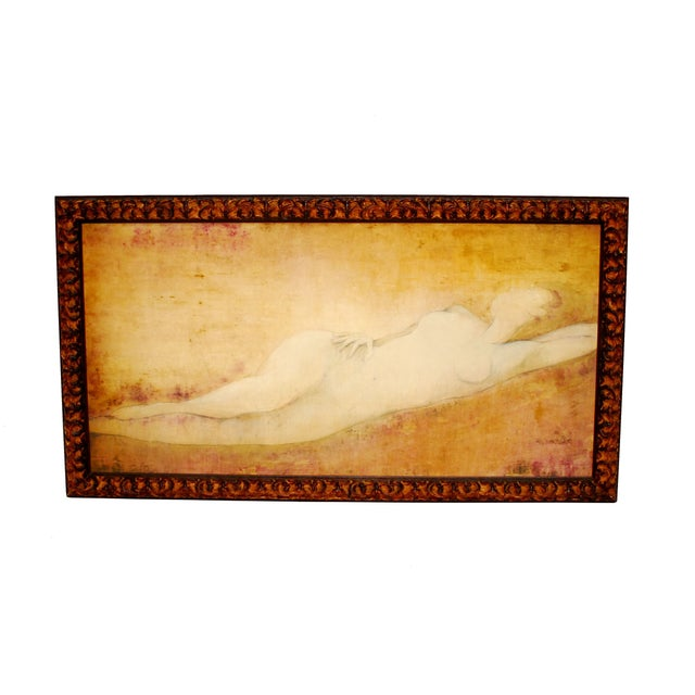 Taylor Nude Oil on Canvas study - Image 1 of 6