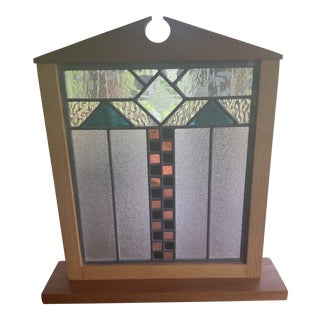 Stained Glass Art Panel For Sale